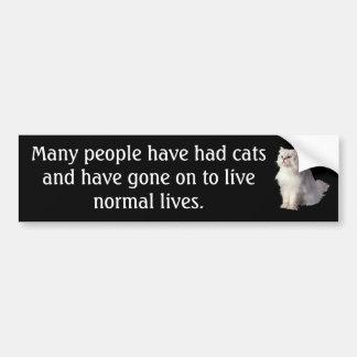 Normal Lives Bumper Sticker