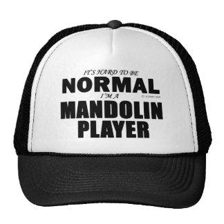 Normal Mandolin Player Mesh Hats
