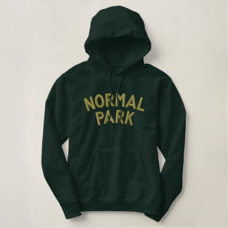 Normal Park Embroidered Hoodie
