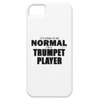 Normal Trumpet Player iPhone 5/5S Case