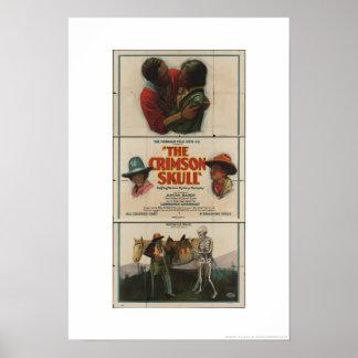 Norman Fil Co. presents The Crimson Skull Poster