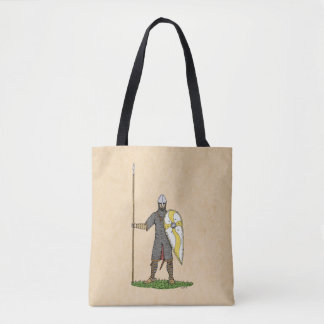 Norman Knight, Circa 1066 Tote Bag