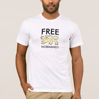 Norman leopard gold, FREE NORMANDY T-Shirt
