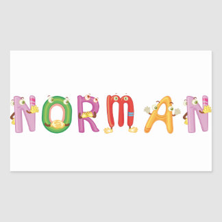 Norman Sticker