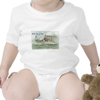 Norman Stoves and Ranges Ship Baby Bodysuits