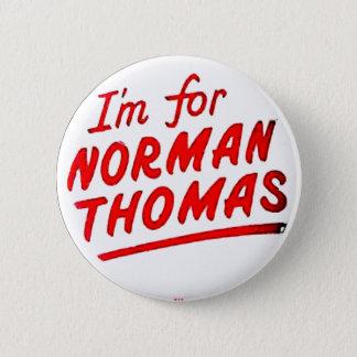 Norman Thomas - Button