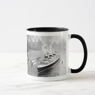 Normandie and Tugs Mug