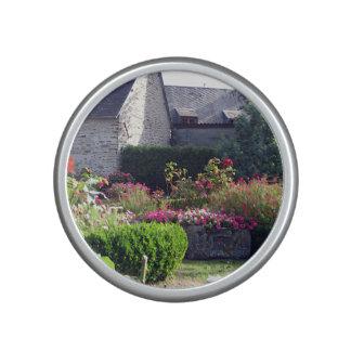 Normandy auberge garden speaker