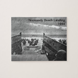 Normandy Beach Landing Jigsaw Puzzle