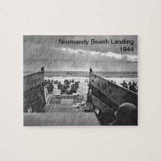 Normandy Beach Landing Puzzles