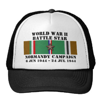 Normandy Campaign Trucker Hats