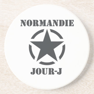 Normandy Day-J Beverage Coaster