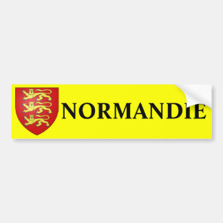 NORMANDY sticker Bumper Sticker