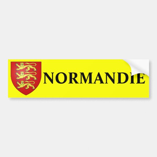 NORMANDY sticker Bumper Stickers