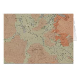 Norris Geyser Basin Card