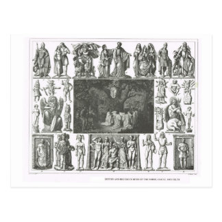 Norse, Gaul and Celtic gods Postcard