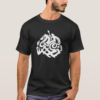 Norse God Odin and Sleipnir T-Shirt