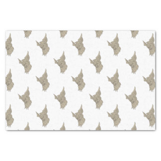 Norse God Odin Head Drawing Tissue Paper