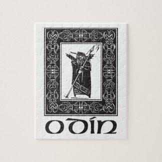 Norse God Odin Jigsaw Puzzle