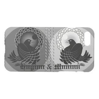 Norse God Odin's Ravens Huginn and Muninn iPhone 8/7 Case