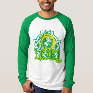 Norse Loki Character Graphic T-Shirt