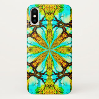 Norse Tree Magic Watercolor Mandala Case