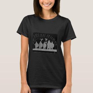 """""""Norseman's Fire"""" T-shirt F Preta"""