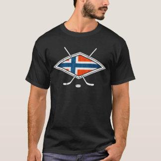 Norsk Ishockey Ice Hockey Logo T-Shirt