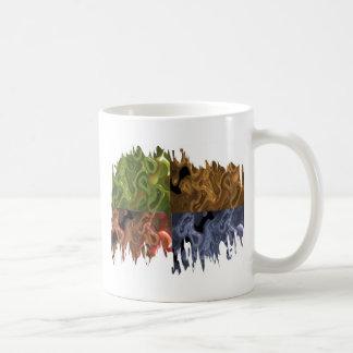 Nortern Light Fusion Collection Coffee Mugs