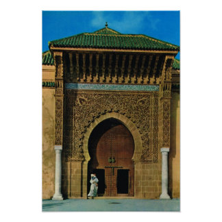 North Africa, Meknes, mosque, Tanger Poster