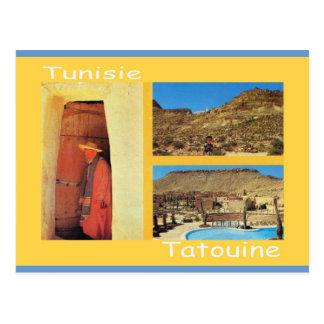North Africa, Tatouine, Tunisia Postcard