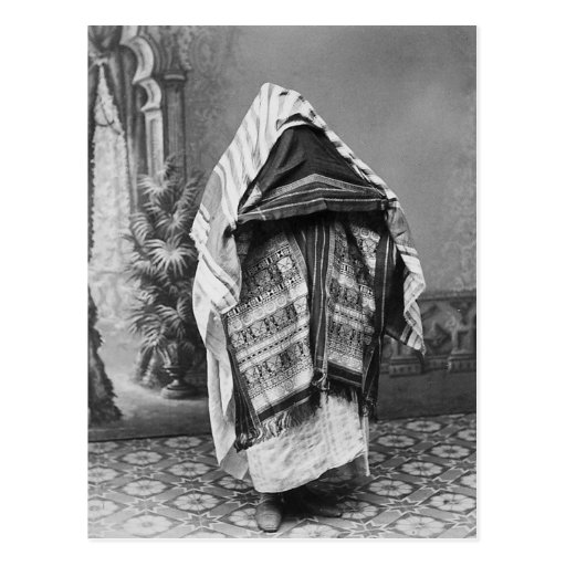 North African in Costume - Vintage Photo 1880 Post Cards