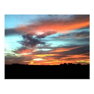 North Alabama Sunset Postcard