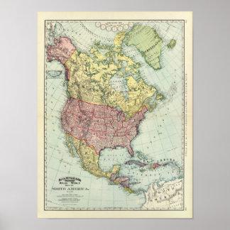 North America 7 Poster