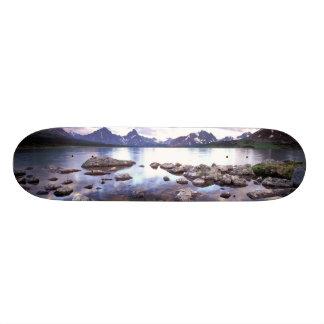 North America, Canada, Alberta, Jasper National 20 Cm Skateboard Deck