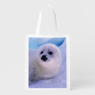 North America, Canada, Gulf of St. Lawrence. 2 Reusable Grocery Bag