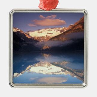 North America, Canada, Lake Louise morning Metal Ornament
