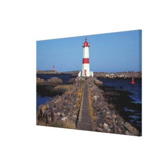 North America, Canada, Miquelon and St. Pierre, Stretched Canvas Prints