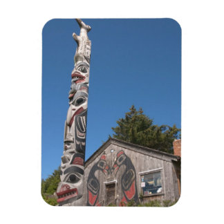 North America, Canada, Queen Charlotte Islands, 3 Rectangular Photo Magnet