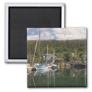 North America, Canada, Queen Charlotte Islands, 4 Refrigerator Magnets