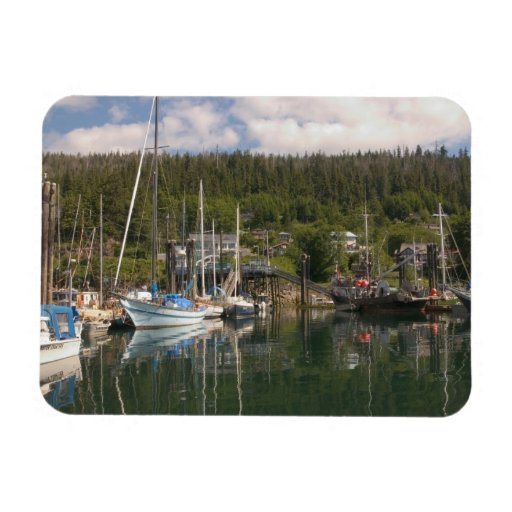 North America, Canada, Queen Charlotte Islands, 4 Flexible Magnets