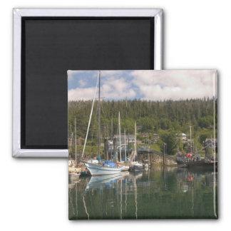 North America, Canada, Queen Charlotte Islands, 4 Square Magnet