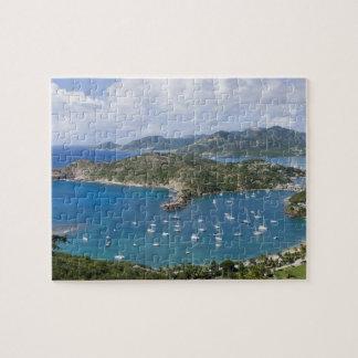North America, Caribbean, Antigua. English Jigsaw Puzzle