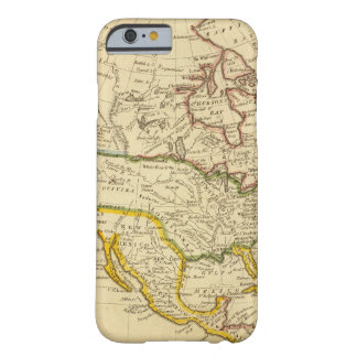 North America Engraved map Barely There iPhone 6 Case