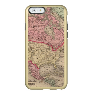 North America Map by Mitchell Incipio Feather® Shine iPhone 6 Case