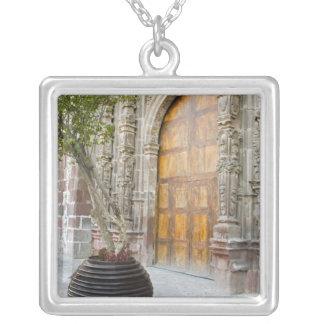 North America, Mexico, Guanajuato state, San 3 Square Pendant Necklace
