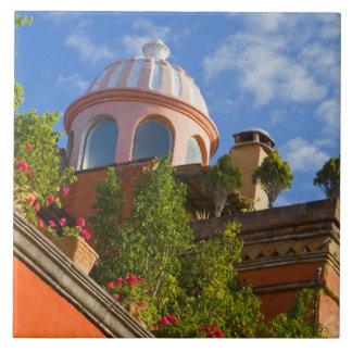 North America, Mexico, Guanajuato state, San 4 Large Square Tile