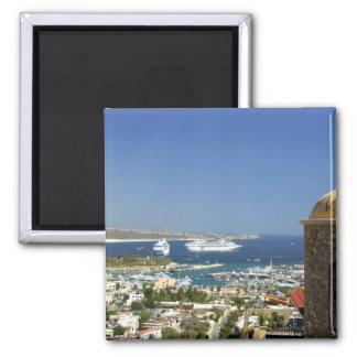 North America, Mexico, State of Baja California 2 Square Magnet