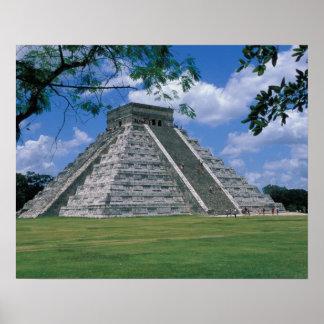 North America, Mexico, Yucatan Peninsula, 2 Poster