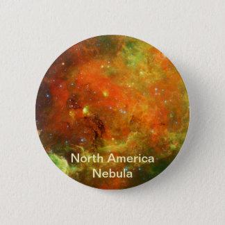North America Nebula 6 Cm Round Badge